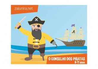 O conselho dos piratas - 8-11 anos