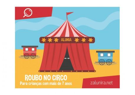 Roubo no circo - a partir de 8 anos