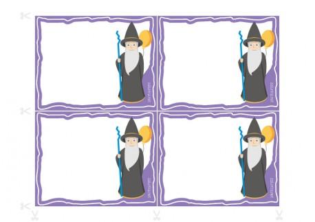 Convites para festas de aniversário a imprimir - Lineus o Mágico