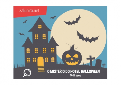 O Mistério do Hotel Halloween - 9-12 anos